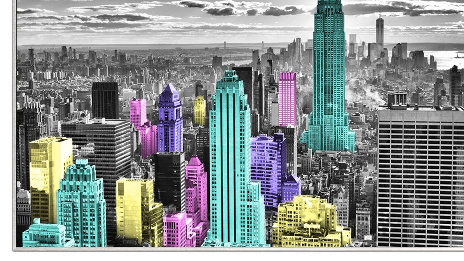 Постер для интерьера New York 80*60 см.