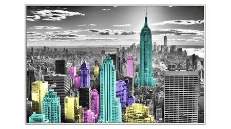 Постер для интерьера New York 80х60 см