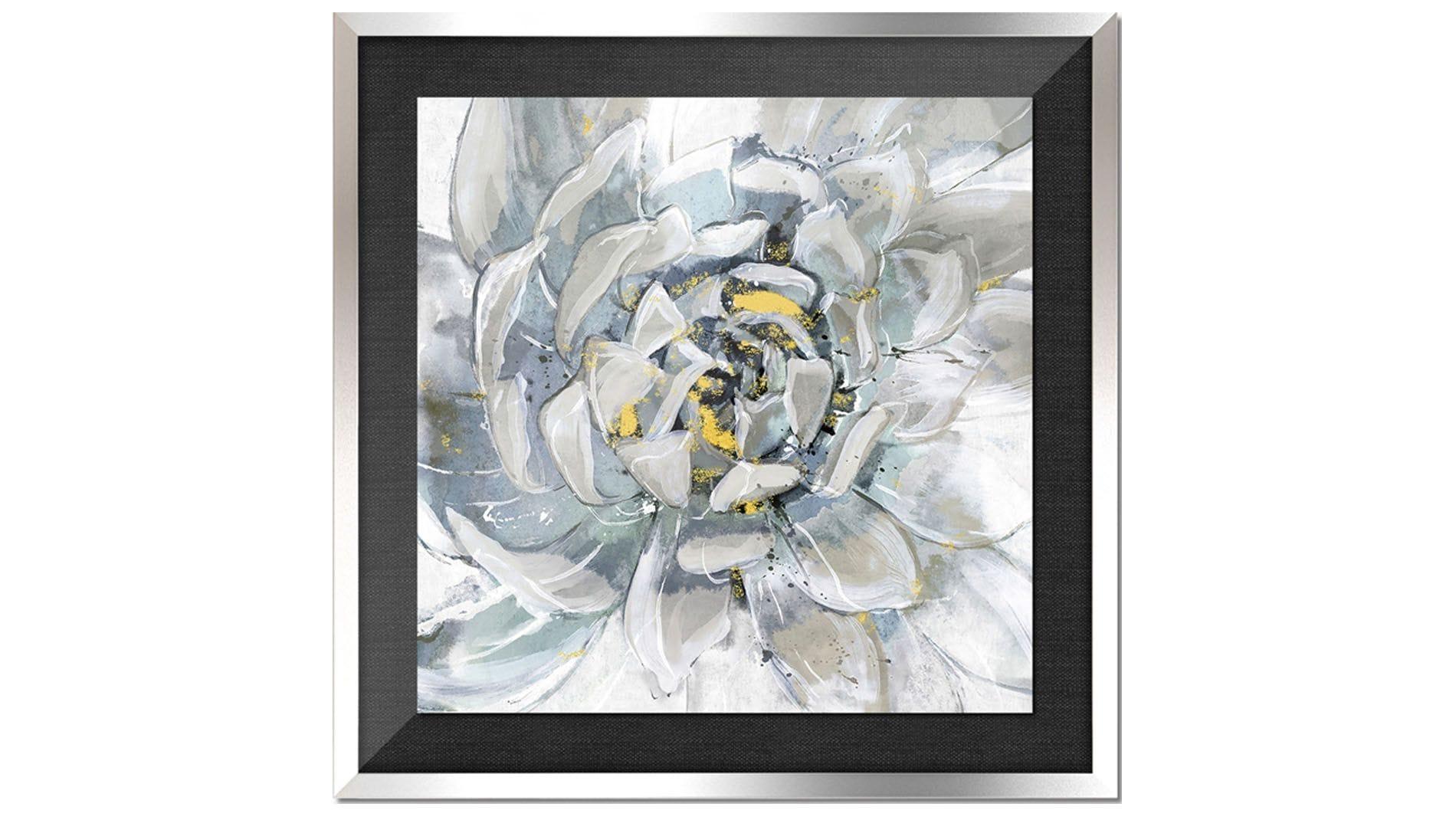 Постер на стену прекрасный цветок 80х80см