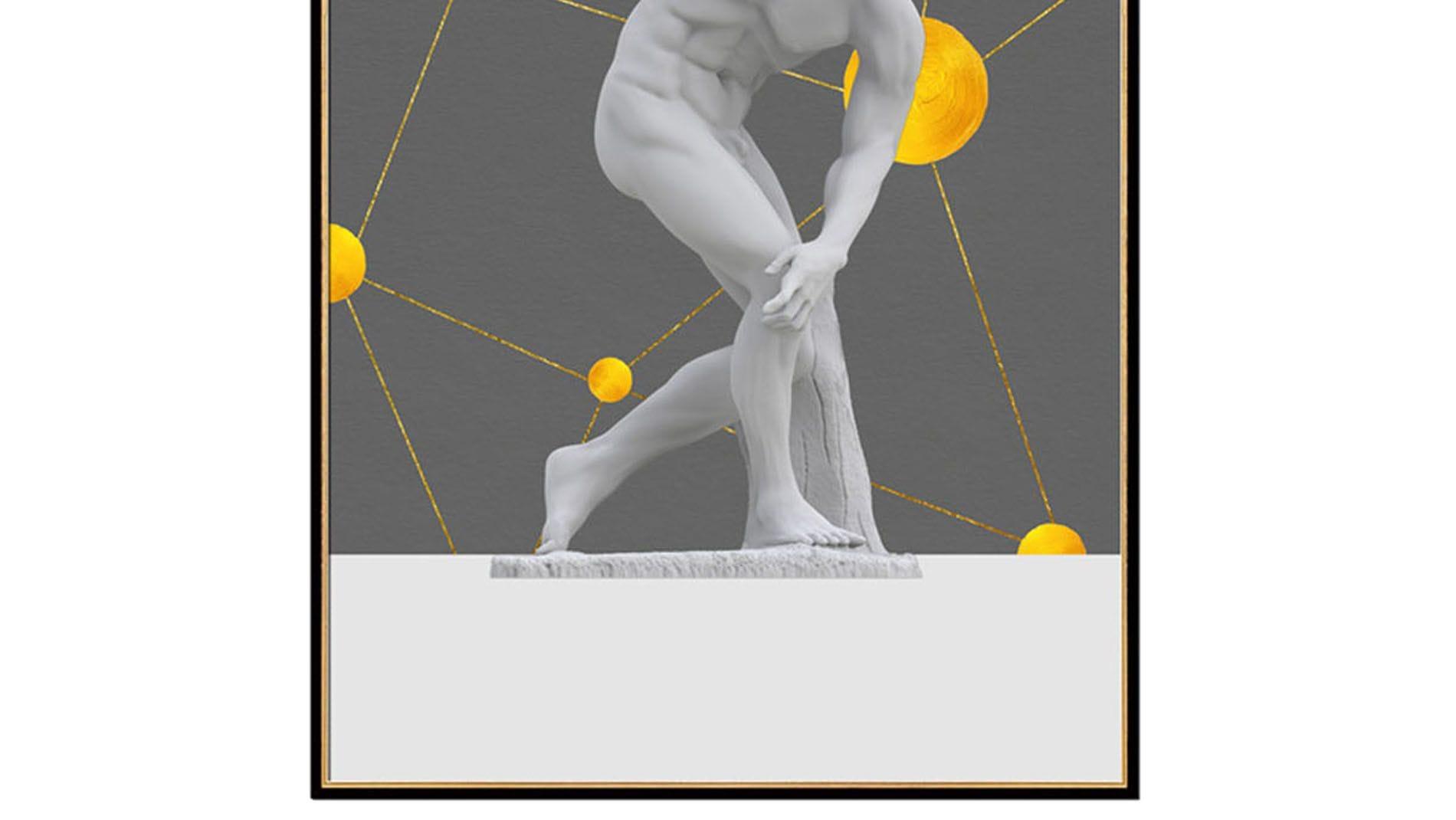 Постер на стену Мирон Дискобол 60х80см