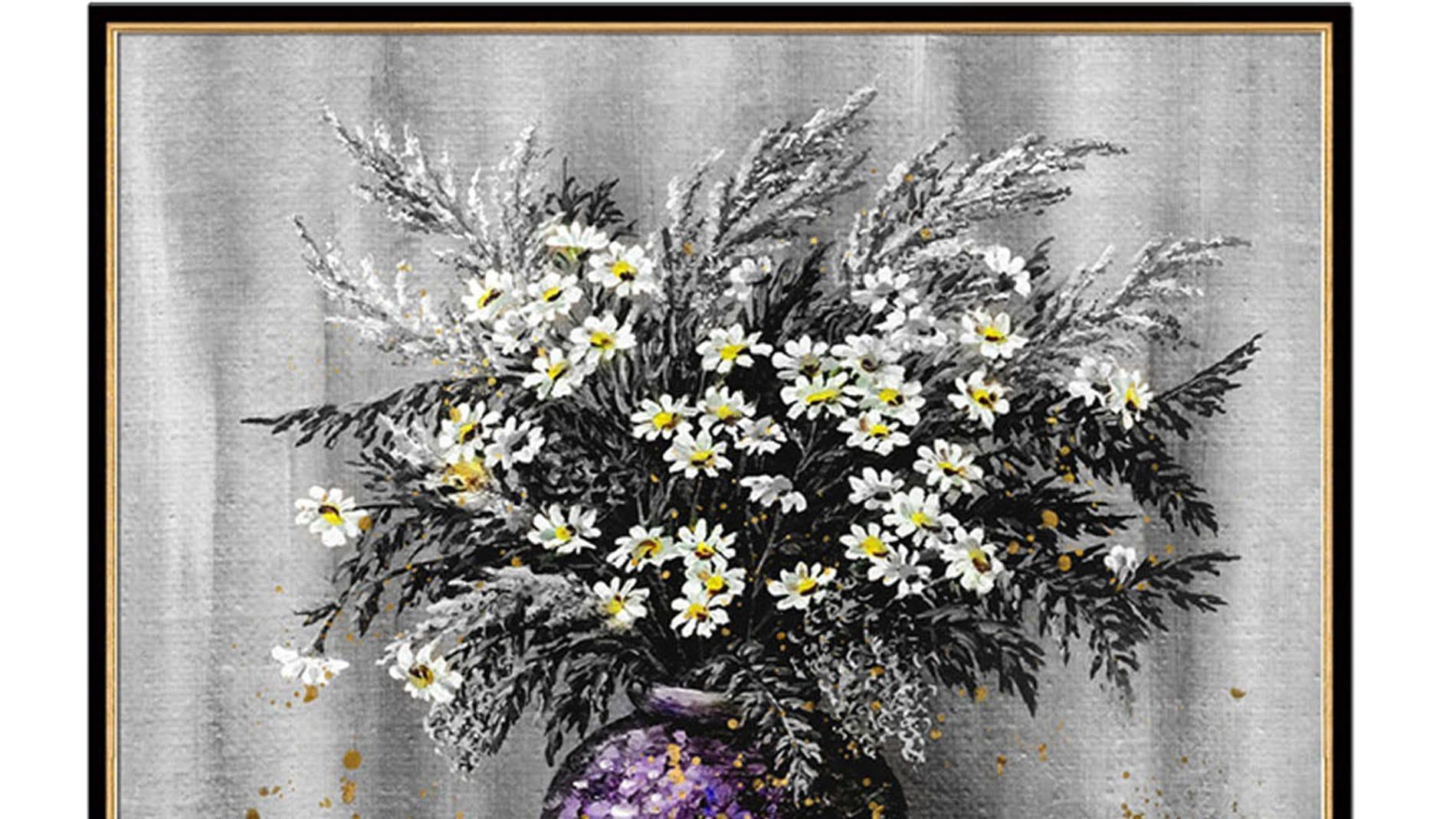 Постер на стену Прекрасные цветы 100х100см