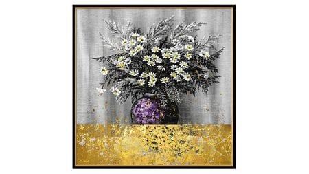 Постер на стену Прекрасные цветы 100*100см.