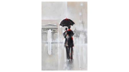 Картина маслом Любовь в Париже