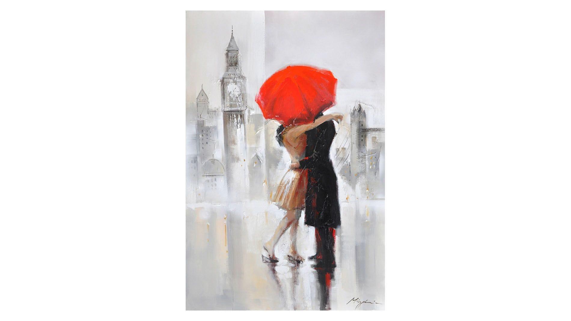 Картина маслом Любовь по-английски
