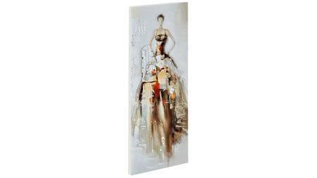 Картина маслом Девушка в платье