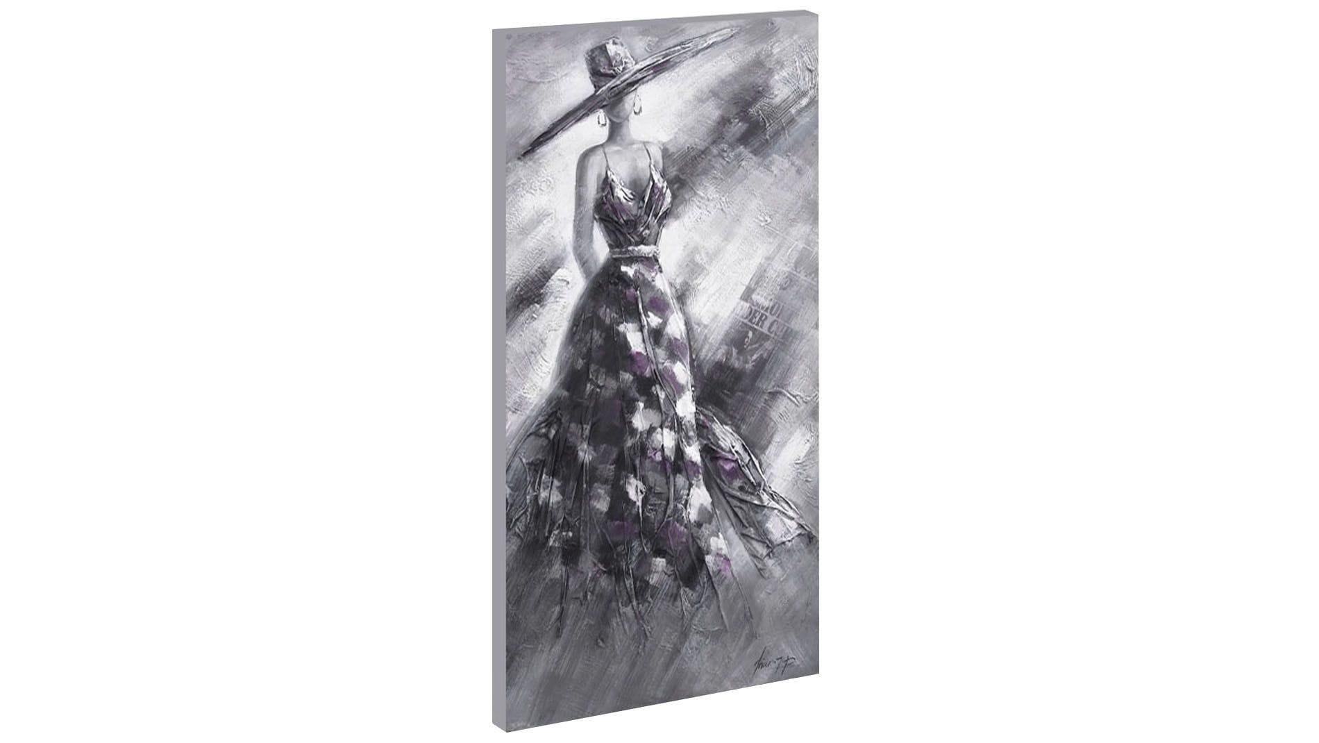 Картина маслом Девушка в шляпе