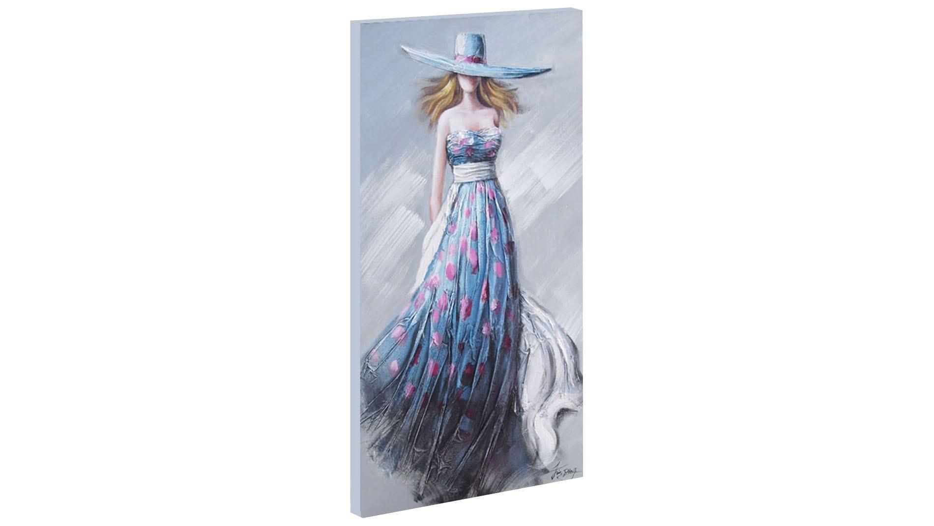 Картина маслом Девушка на ветру