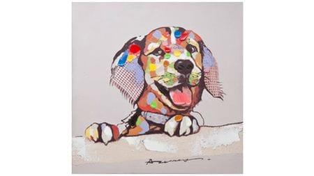 Картина маслом Собачья радость
