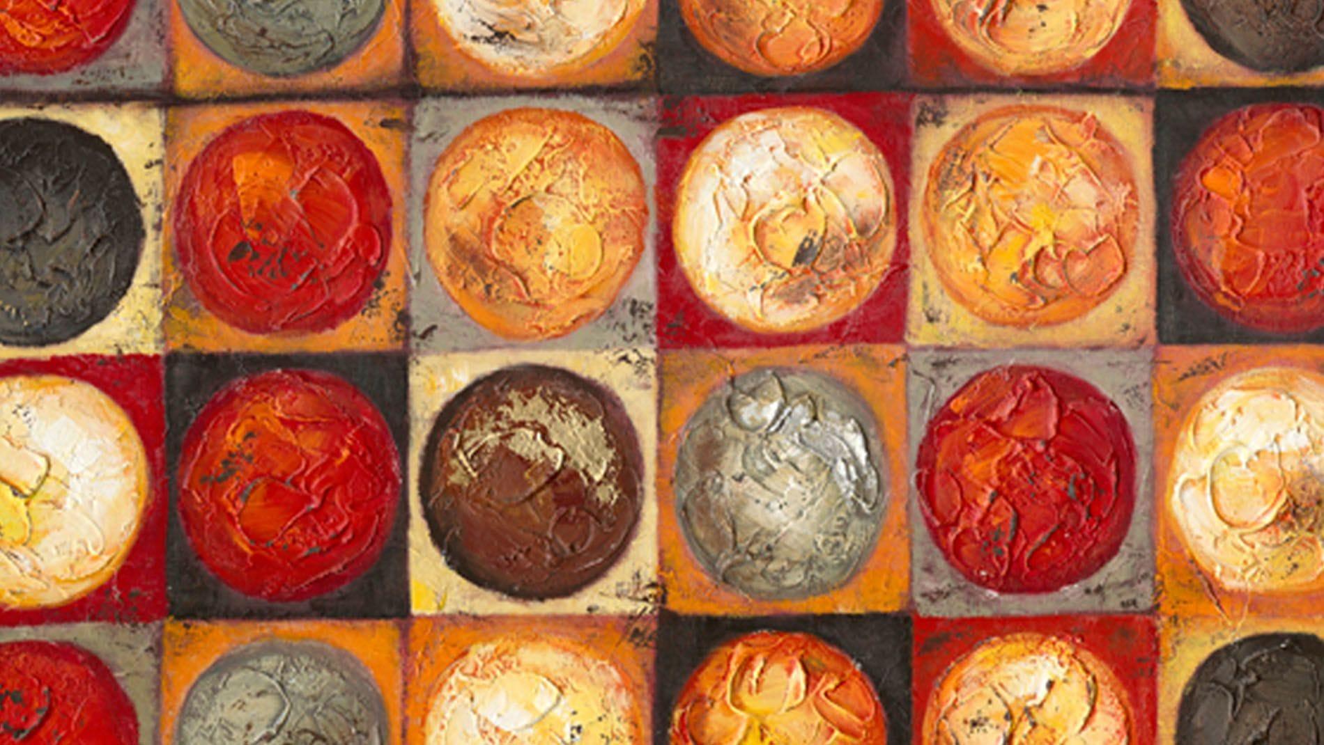 Картина маслом Разнообразие Солнца