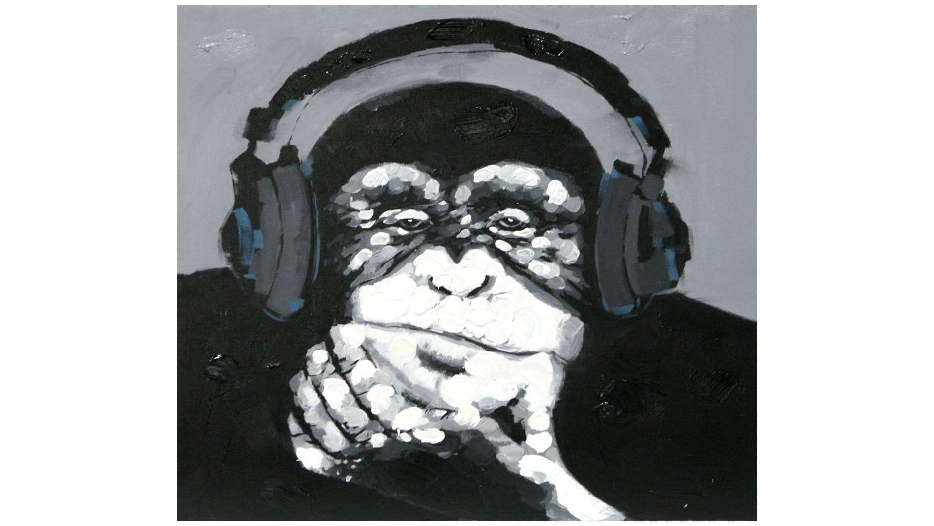 Картина маслом Любовь к музыке