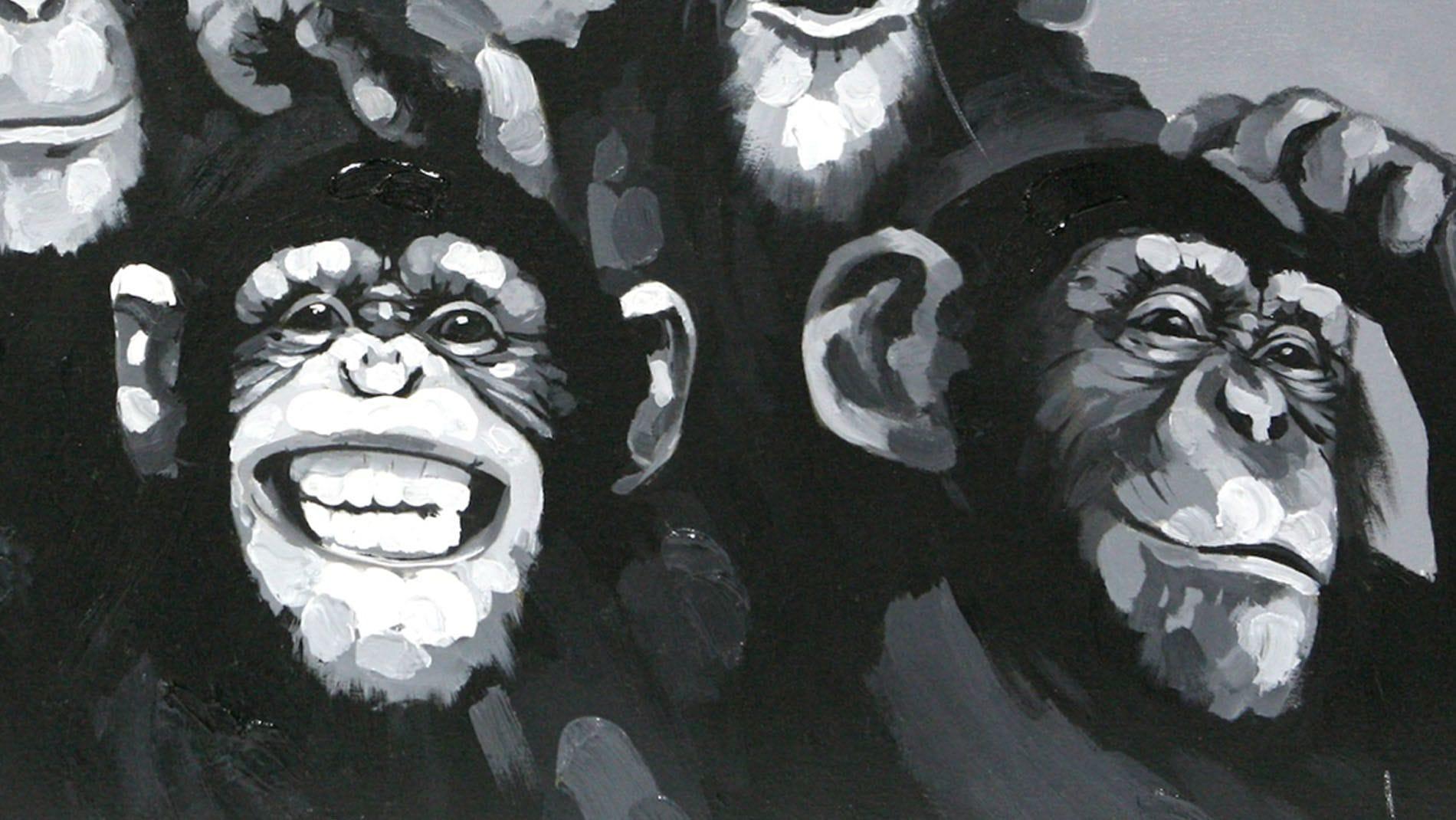 Картина маслом Веселая компания