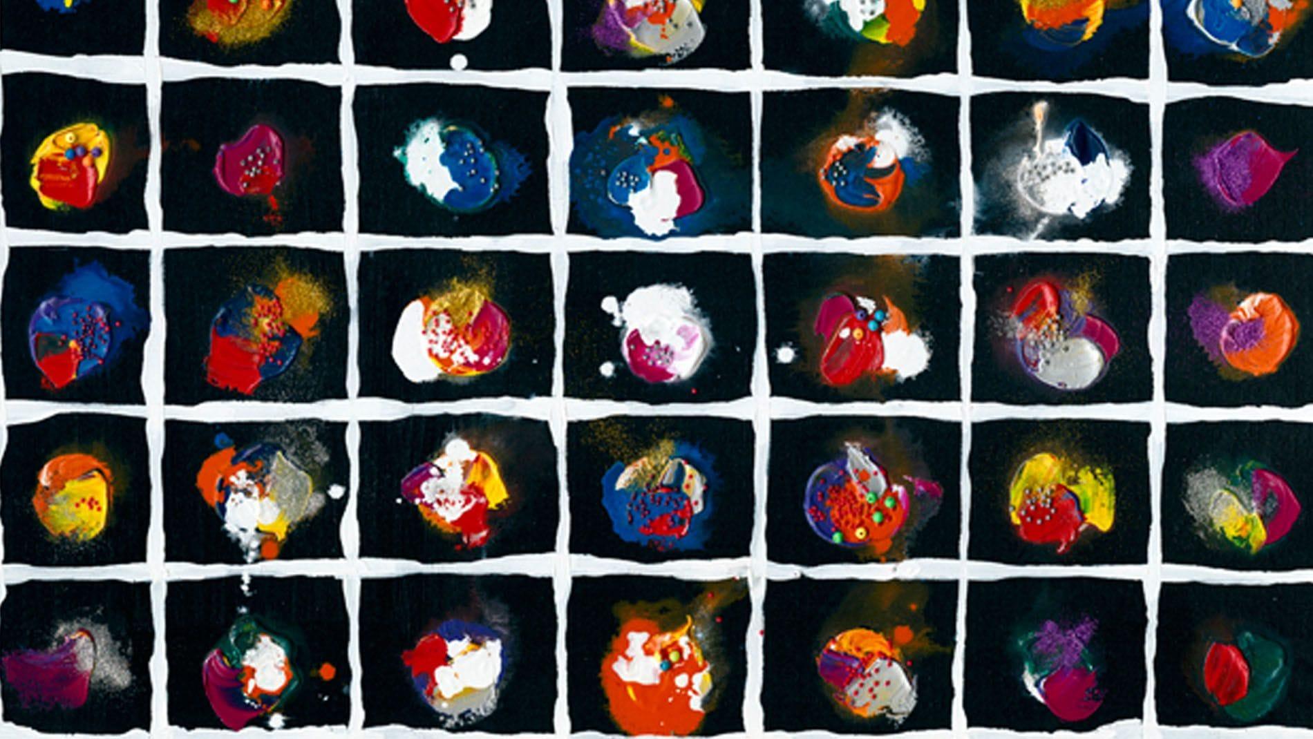 Картина маслом Происхождение Вселенной