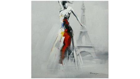 Картина маслом Парижанка
