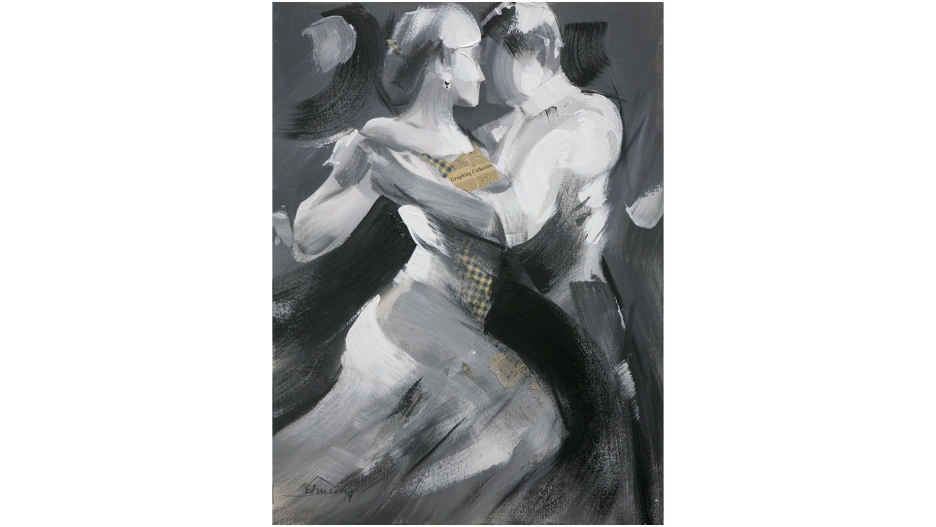 "Картина маслом "" Танцы-2 """