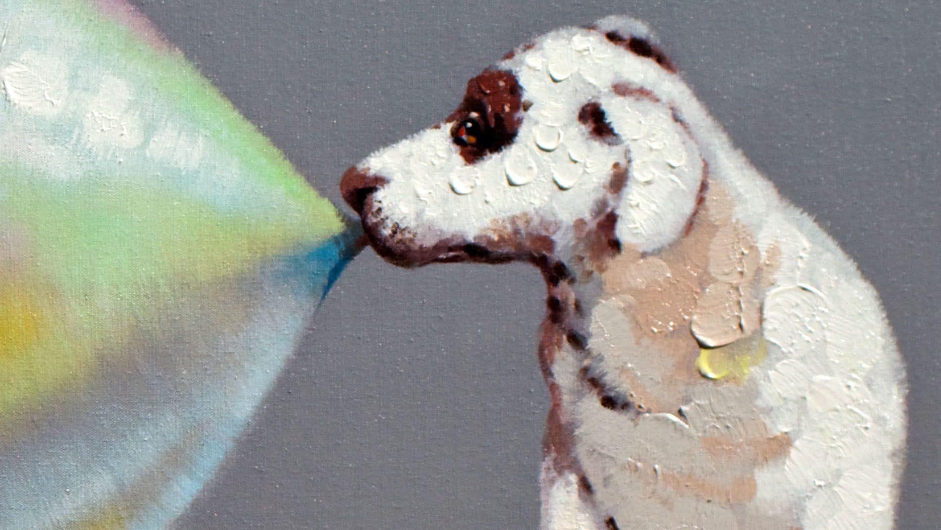 Картина маслом Жевательная резинка