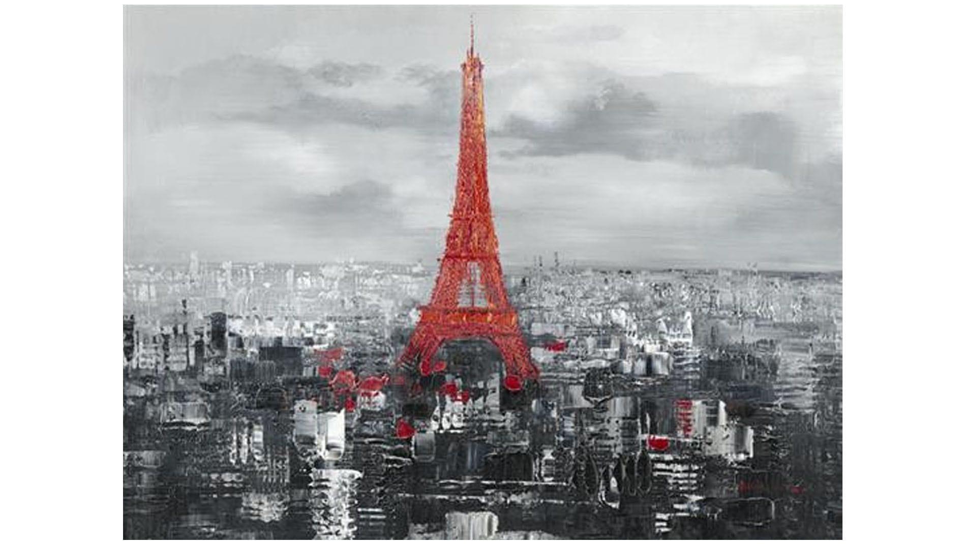 "Картина маслом "" Эйфелева башня 1889 """