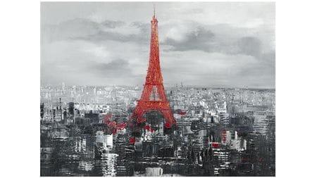 Картина маслом Эйфелева башня 1889