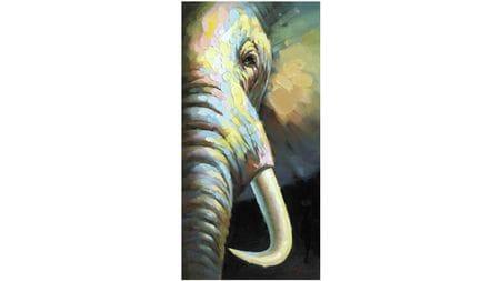 Картина маслом Слон-2