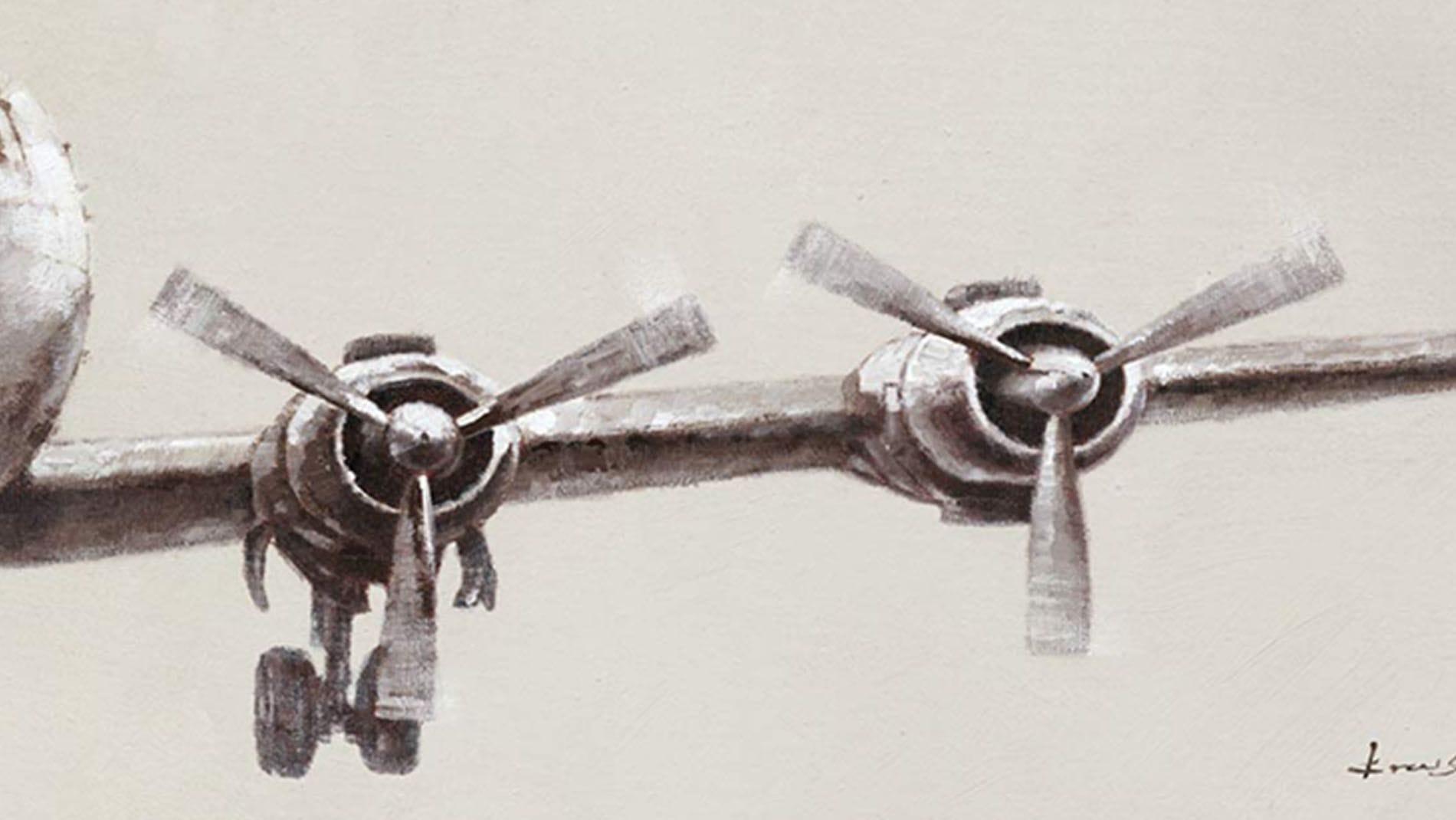Картина маслом САМОЛЕТ-2