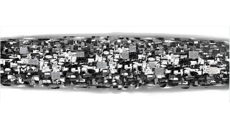 Картина маслом Фото со спутника