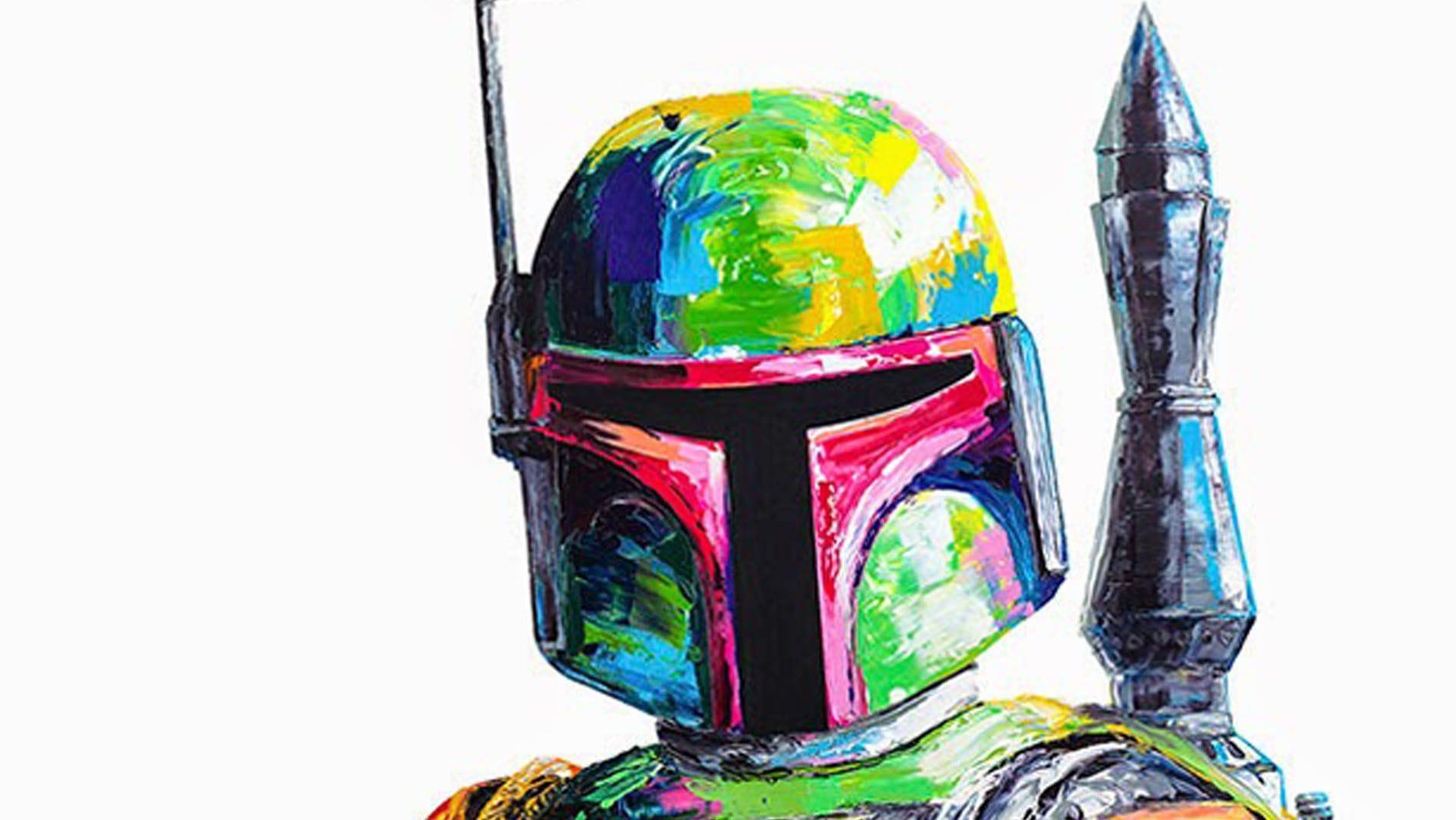 Картина маслом Имперский солдат