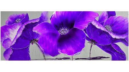 Картина маслом Фиолетовая орхидея