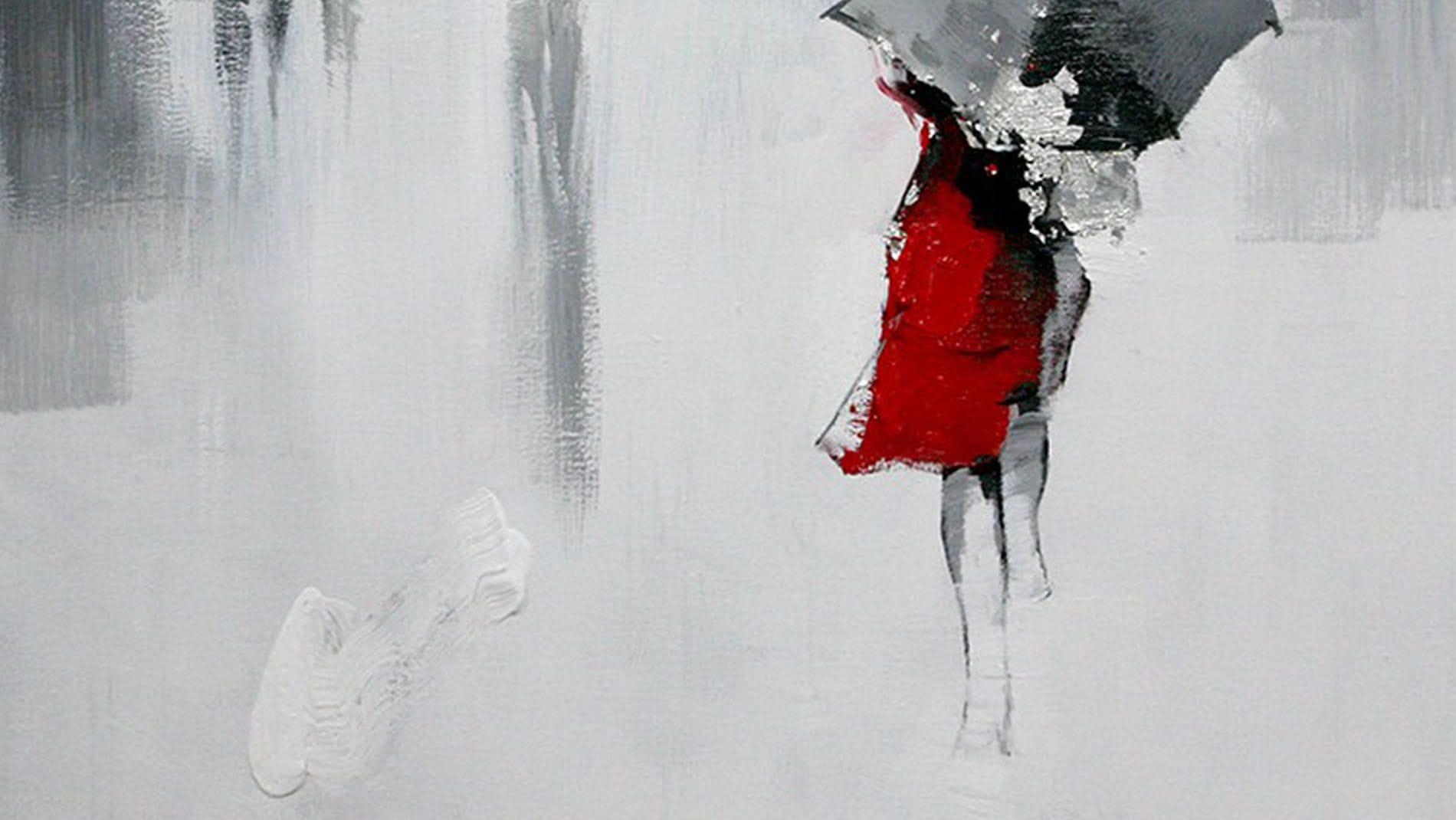 """Картина маслом """" Осень-2 """""""