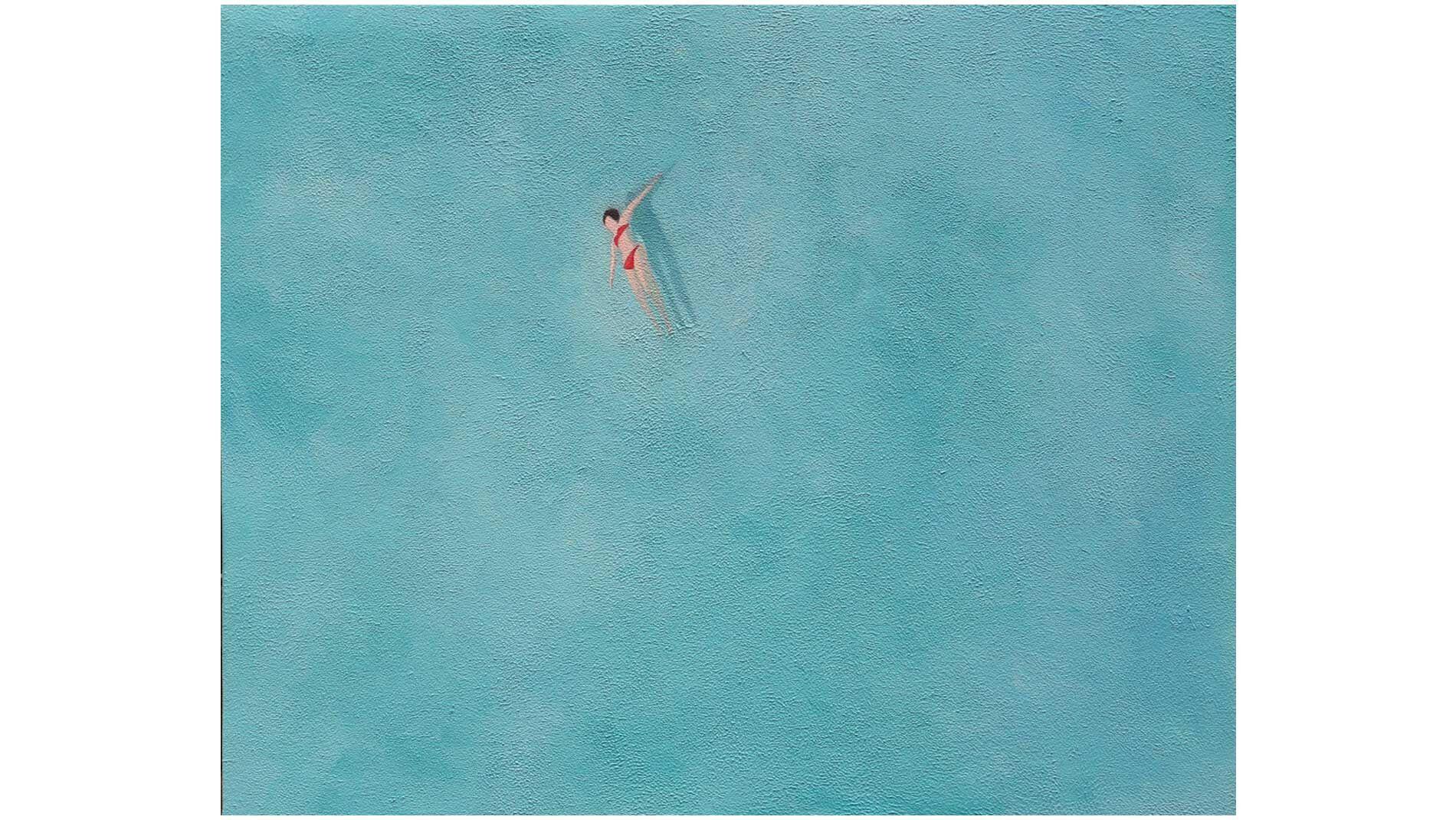 Картина на холсте тихое море