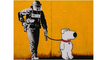 Картина на холсте Брайн и полицейский
