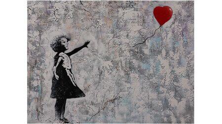 Картина на холсте Девочка и шарик