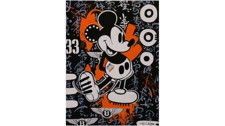 Картина на холсте микки маус - MICKEY MOUSE