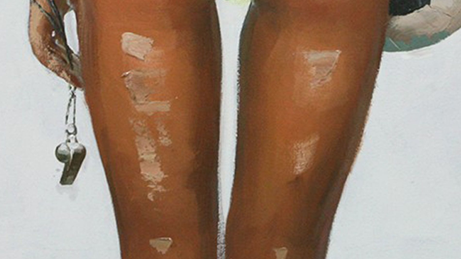 Картина маслом Пляжный волейбол - 2