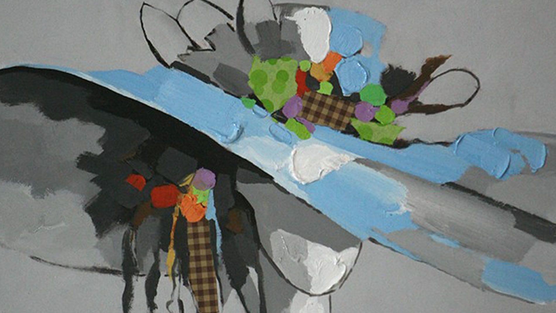 Картина маслом Мадемуазель