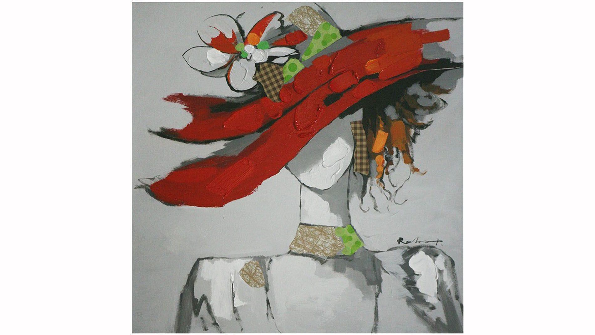 Картина маслом Мадемуазель - 2