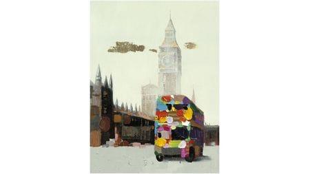 Картина маслом Лондонский автобус