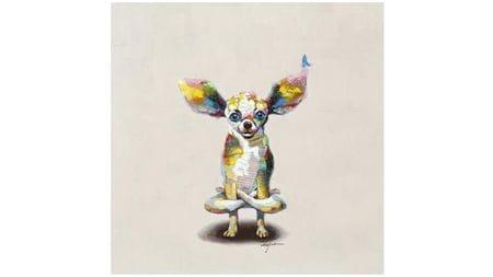 Картина маслом Доги-йоги