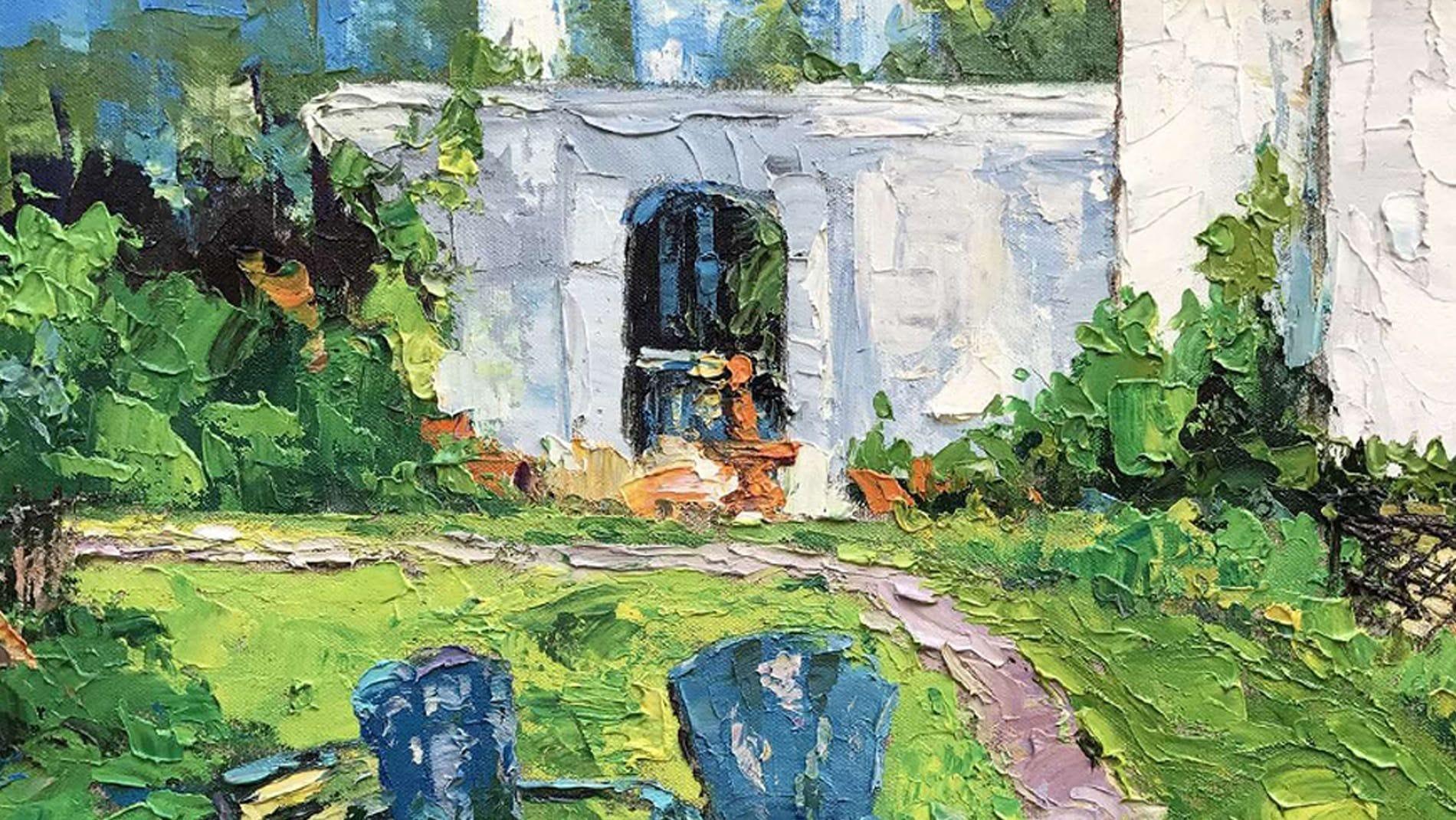 Картина маслом Пейзаж