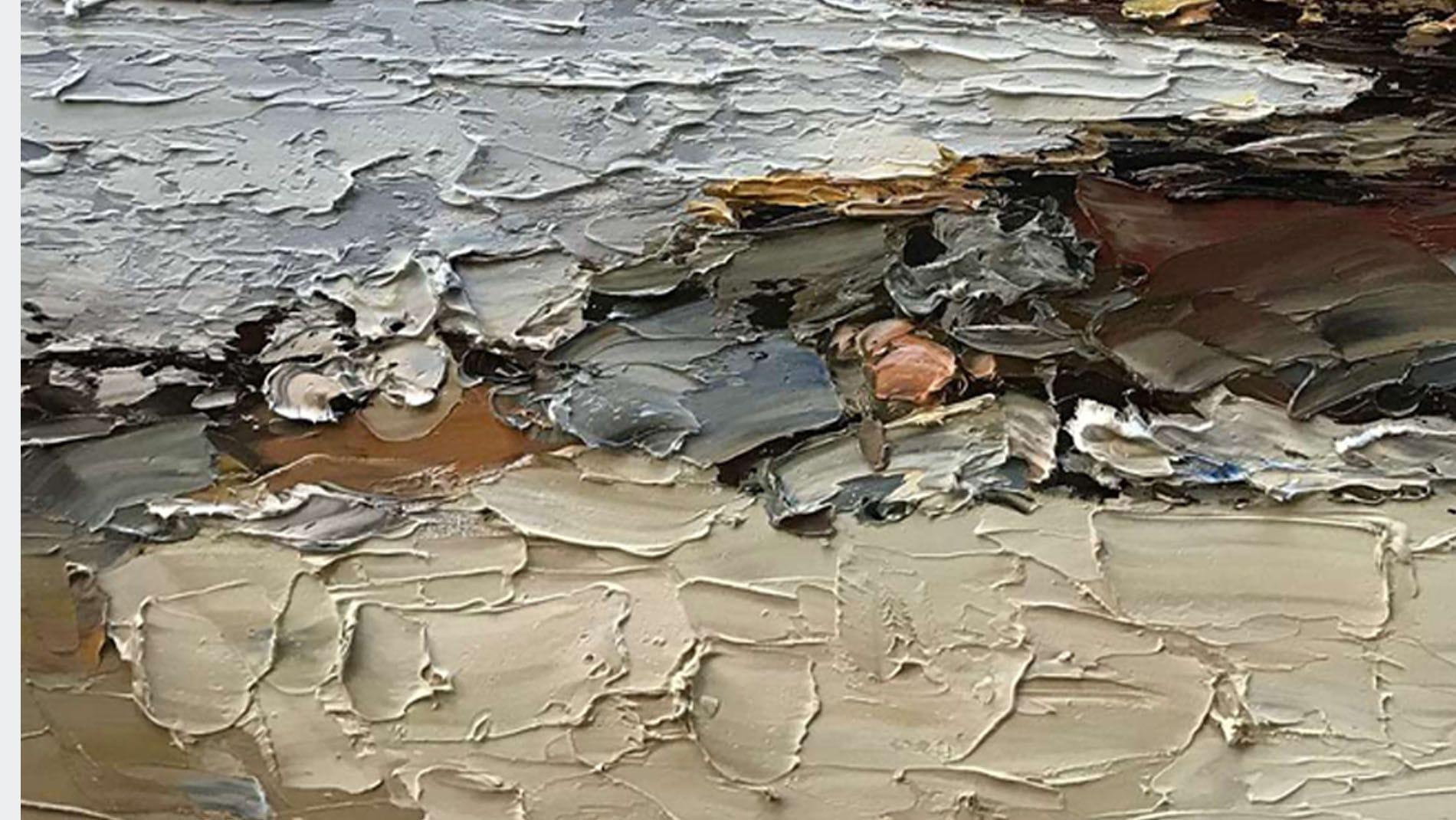 Картина маслом Прилив