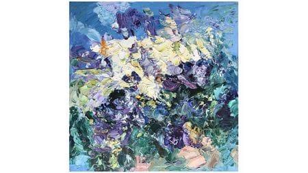 Картина маслом Разнообразие цветов