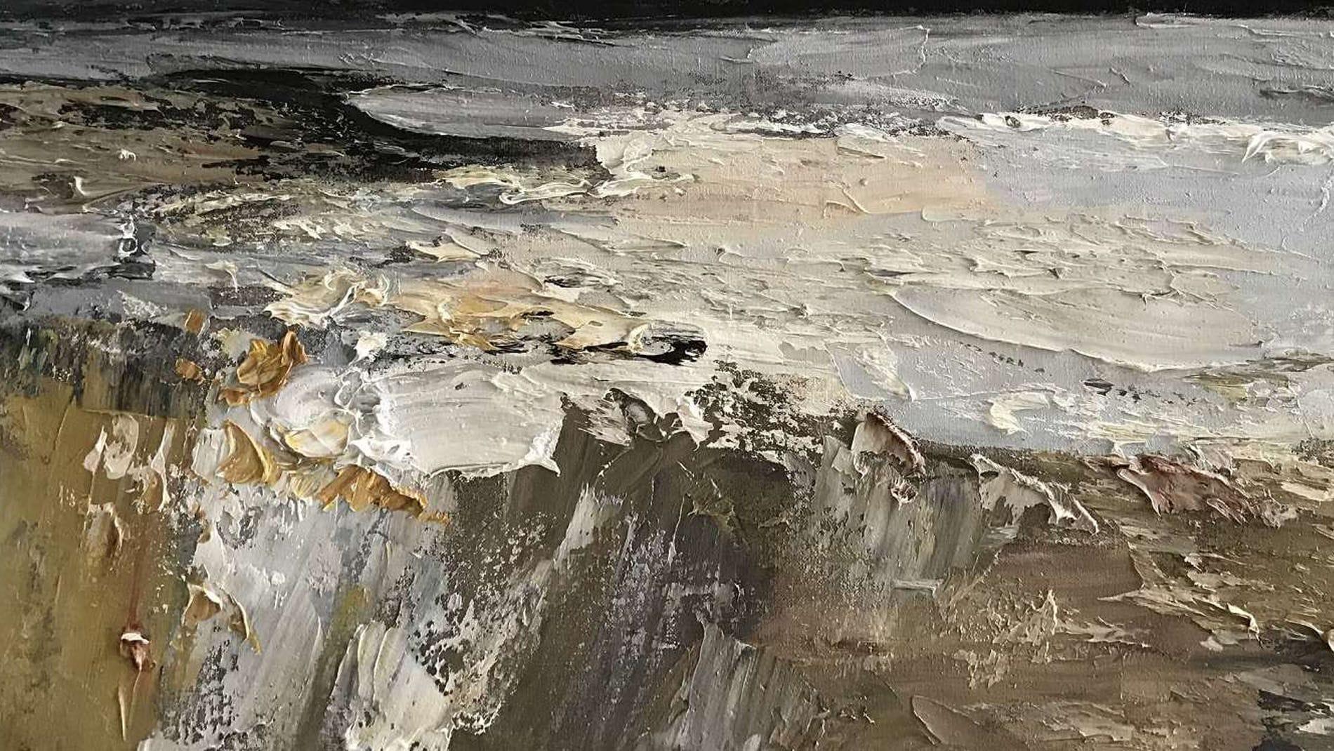 Картина маслом Ураган