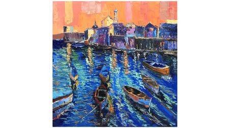 Картина маслом Вечерняя Венеция