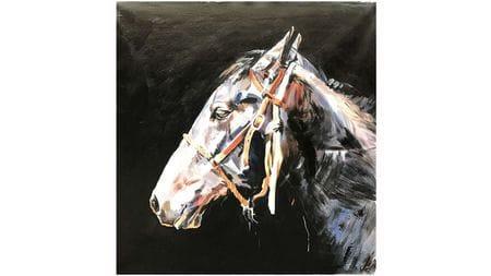 Картина маслом Лошадь -3