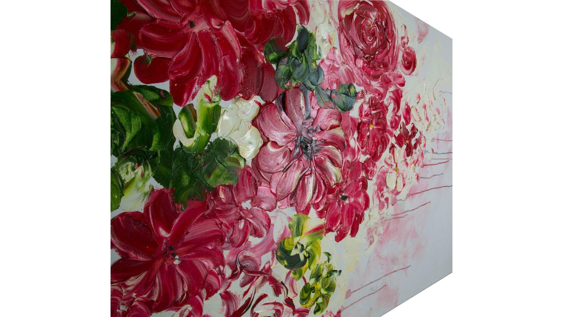 """Картина маслом """"Дивные цветы"""" 90*120 см."""
