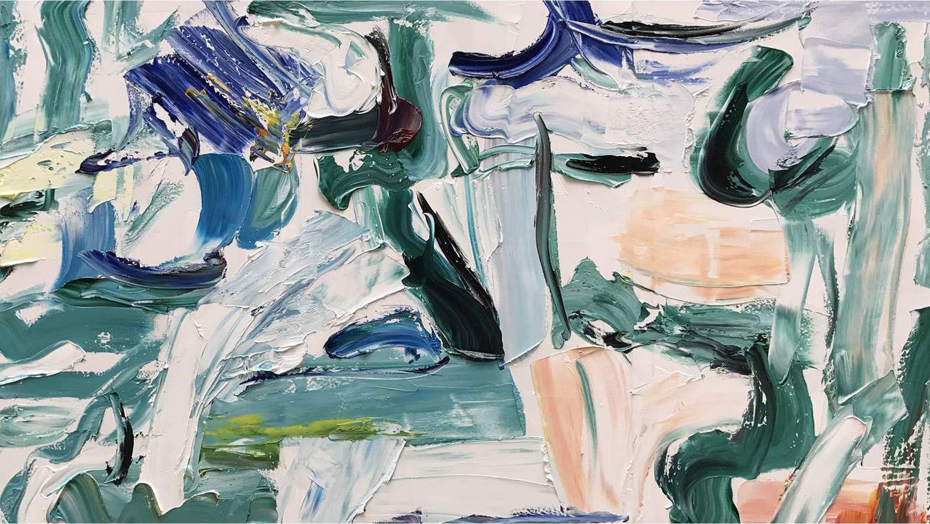 Картина маслом Граффити - 2