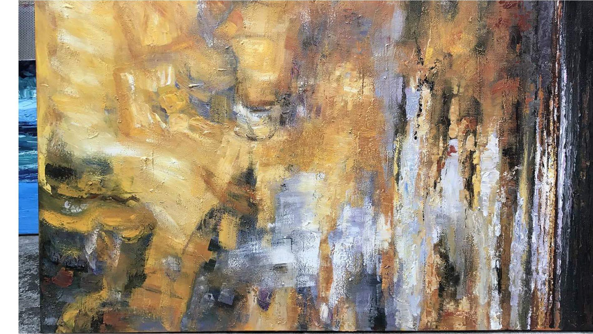 Картина маслом Затмение
