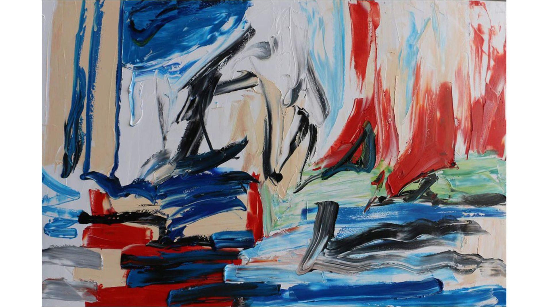Картина маслом Граффити - 4