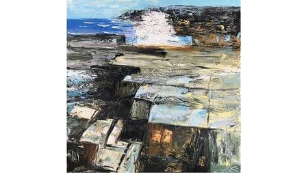Картина маслом Волны - 3