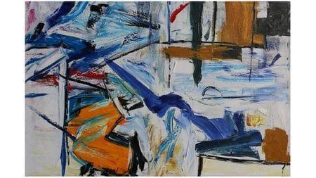 Картина маслом Граффити - 5