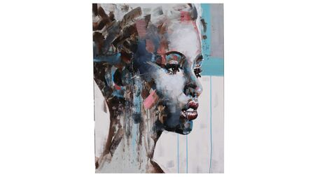 Картина на холсте Загадочная девушка