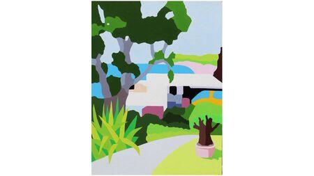 Картина на холсте парк